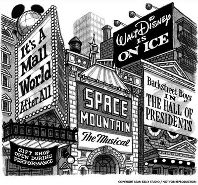 the disneyfication of childrens culture Children participate in a protest against child separation of illegal immigrants   infantilization of western culture threatens democracy  scholars have also  explored how this form of las vegas-style disneyfication has left its.